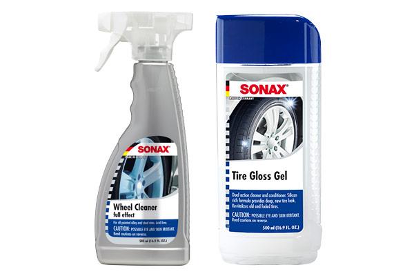 sonax wheel tire care