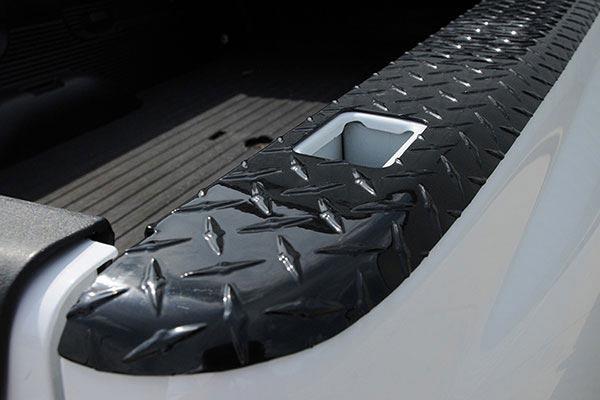 Dee Zee Black Tread Wrap Side Bed Caps, DZ 21990B