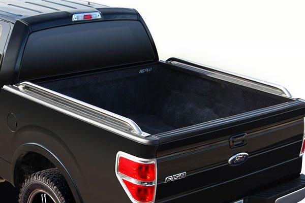 raptor series tubular truck bed rails