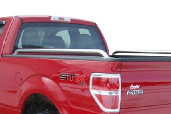 raptor series tubular truck bed rails universal fit