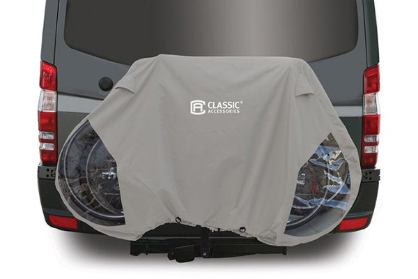 Bicycle Cover - Waterproof Mountain Bike Cover by Classic Accessories -  Deluxe Bike Carrier Cover