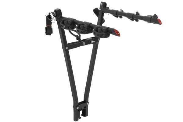 curt clamp on tow ball mounted bike rack