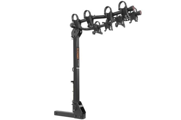 curt premium hitch mounted bike racks