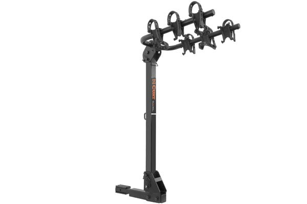 curt standard hitch mounted bike racks