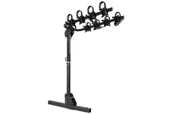 curt towable hitch mount bike rack