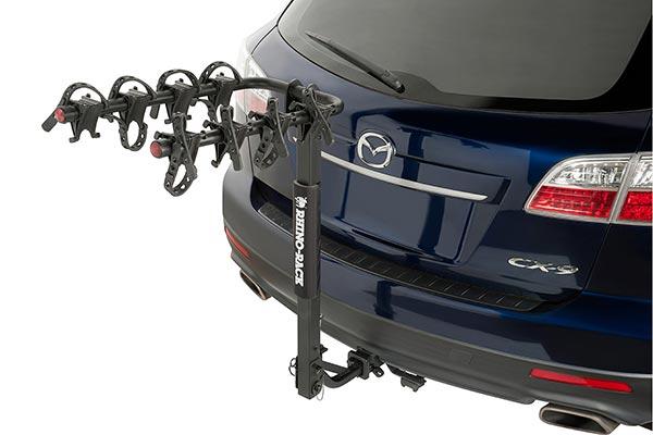rhino rack hitch mounted bike rack