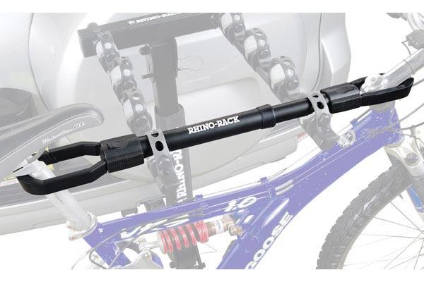 rhino rack top tube bike frame adapter bar