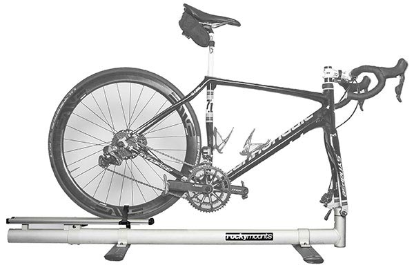 rockymounts tandem r4 with road bike