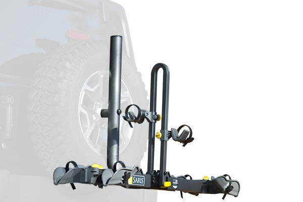 Saris Freedom Spare Tire Mount Rack Off Road Capability