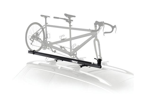thule tandem carrier pivoting roof bike rack