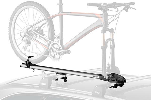 thule thruride 535 fork mount roof bike rack