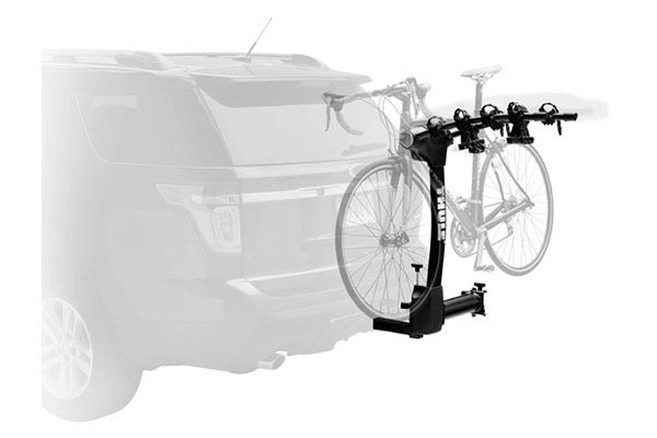 vertex swing hitch bike rack  on car