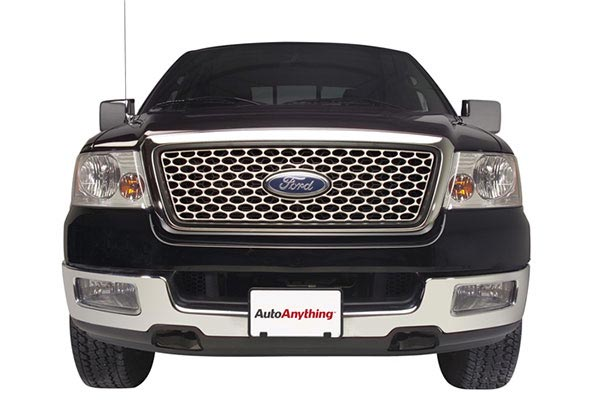 putco punch grille stainless steel f150