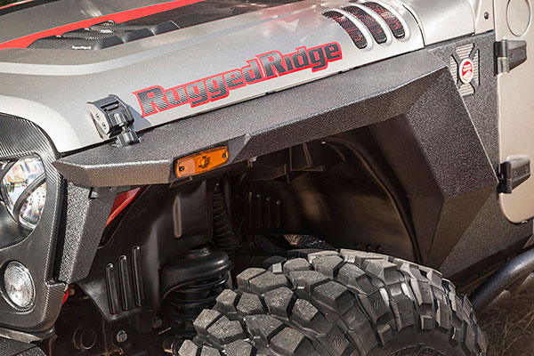 rugged ridge xhd armor fenders hero