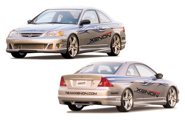 xenon 10200 01 03 Civic FR34