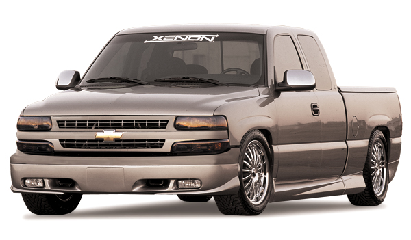 1999 2000 Chevy Silverado Full Body Kits Xenon 4180 Kit On PopScreen