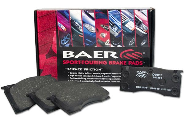 2008 Jeep Compass Baer Sport-Touring Brake Pads 3942-33-2845-2008