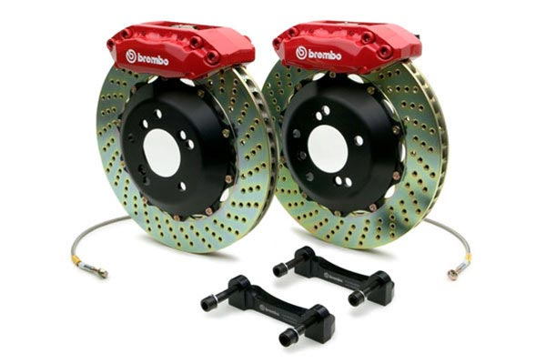 brembo gt drilled red