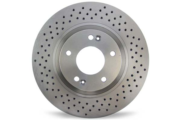 centric c tek drilled brake rotors hero