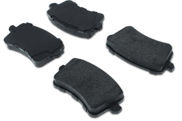 Centric C-TEK Semi-Metallic Brake Pads