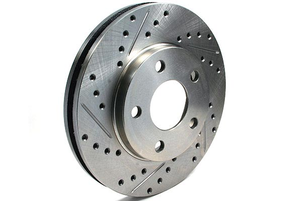centric c tek drilled slotted brake rotors