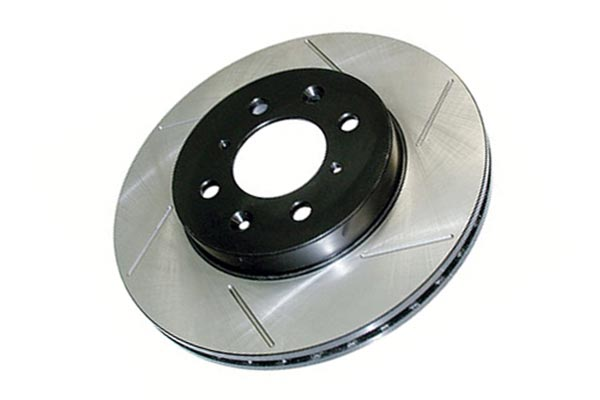 centric premium high carbon oe design slotted brake rotors