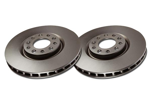 2014 Ford Escape EBC Premium Rotors RK1434 Front Rotor Set 10785-RK1434