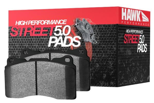 2012 Lexus IS F Hawk HPS 5.0 Brake Pads 9051-13-10009-2012