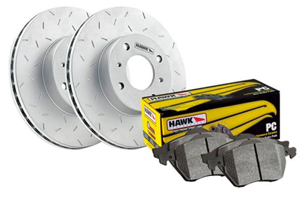 2006 Chrysler 300 Hawk Performance Ceramic Brake Kit 8534-12-2287-2006