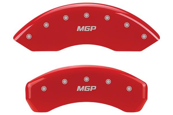 red mgp brake caliper covers