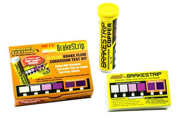 phoenix systems brake fluid test strips hero