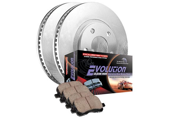power stop oek ceramic brake kit