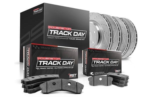 power stop track day brake kit