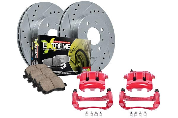 2002 Toyota Celica Power Stop Z26 Extreme Street Warrior Caliper Brake Kit 9021-17-52-2002