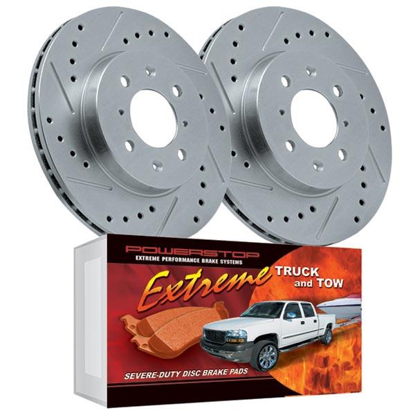 2000 GMC Yukon XL1500 OE Replacement Rotors Metallic Pads F