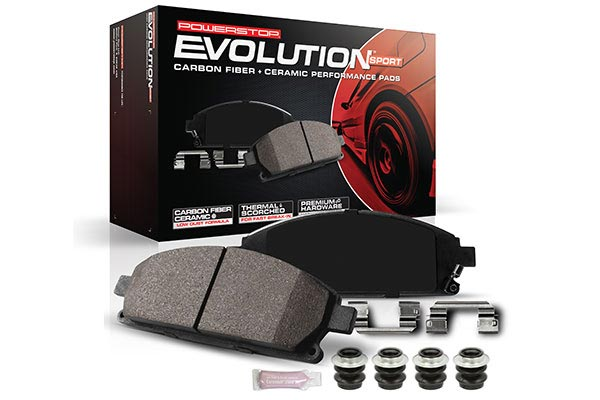 powerstop z23 evolution brake pads new 10483