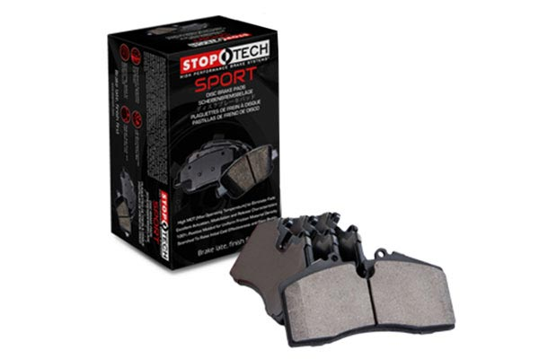 stoptech sport performance brake pads hero