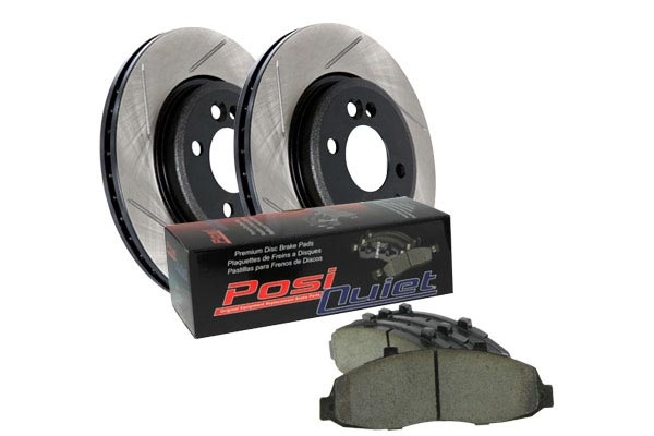 stoptech slotted street brake kit