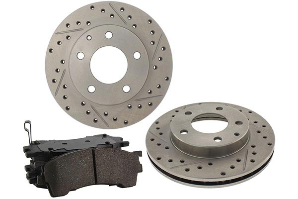 2000 Jeep Grand Cherokee TruXP Premium Performance Brake Kit 11237-33-228-2000