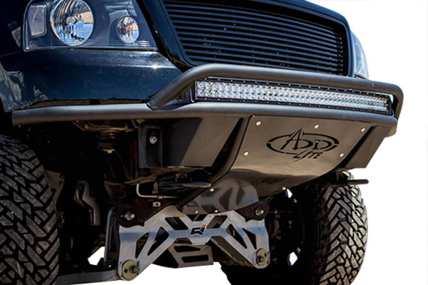 addictive desert designs add lite front bumper