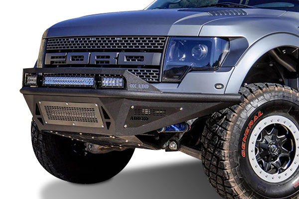 addictive desert designs stealth fighter front bumper