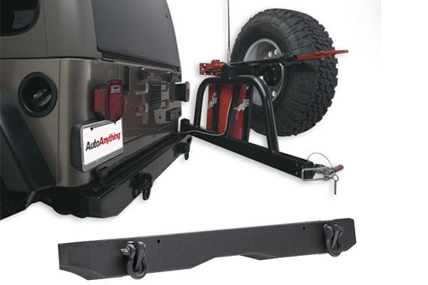 body armor rear jeep bumper