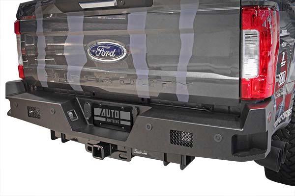 dee zee k series rear bumper hero