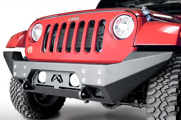 fab fours full metal jacket jeep front bumper hero