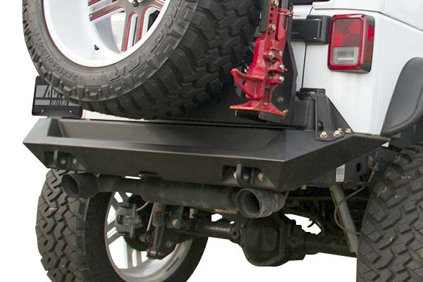 fab fours jeep rear bumper hero