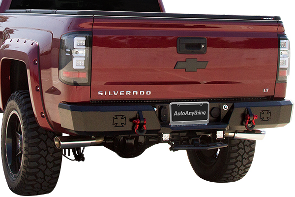 iron cross hd rear bumpers