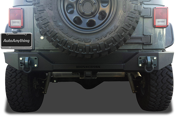 iron cross jeep rear bumpers