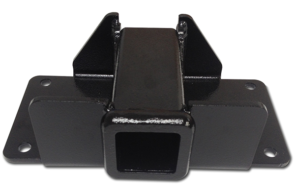 iron cross receiver hitch winch plate