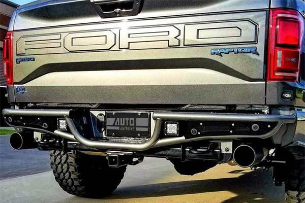 N Fab Rb Rear Bumper Ford Raptor Rb Prerunner Rear Bumper