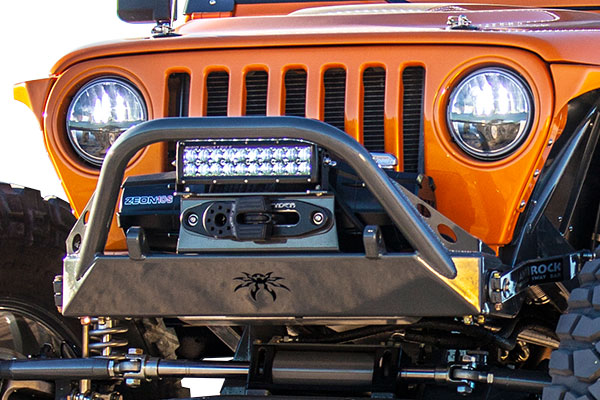 poison spyder bfh front bumpers